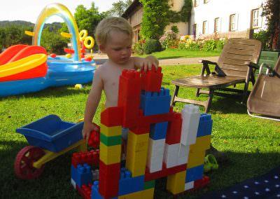 Spielen auf dem Moserhof