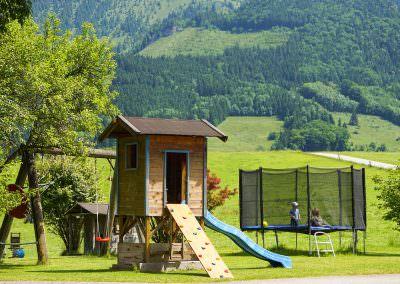 Spielplatz auf dem Moserhof