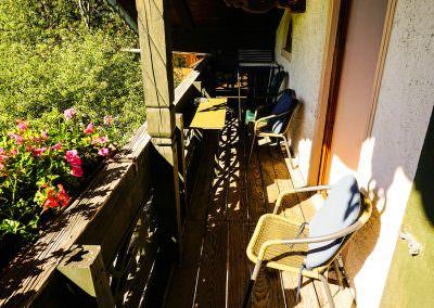 Balkon Mansardenwohnung