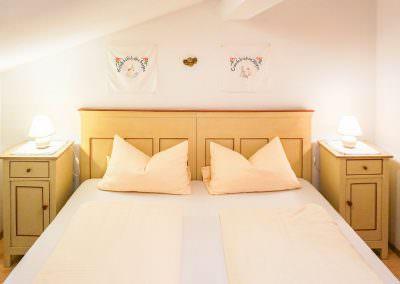 Schlafzimmer Mansardenwohnung