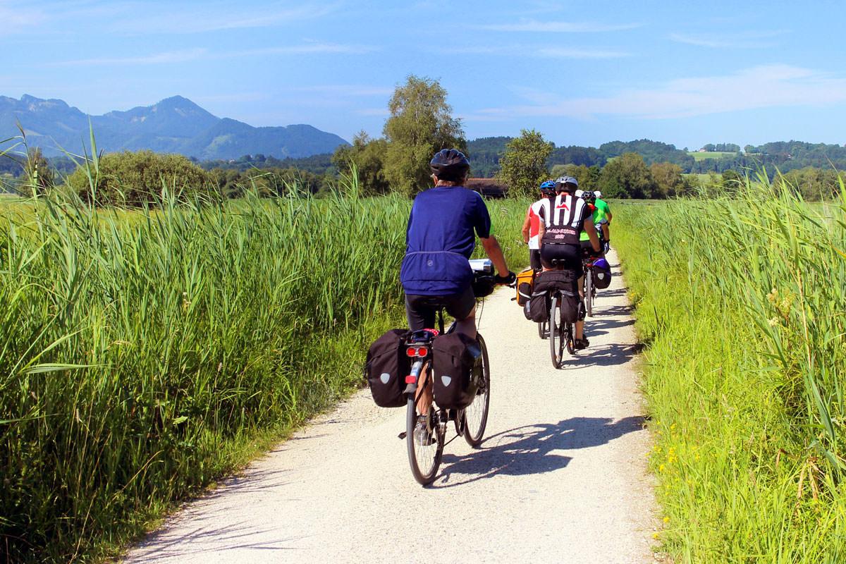 Radlfahren und Mountainbiken rund um den Moserhof