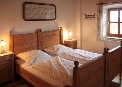 Schlafzimmer zwei Hofwohnung