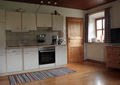 Küchenzeile Hofwohnung