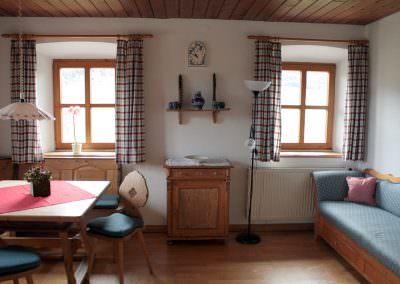 Wohnzimmer Hofwohnung