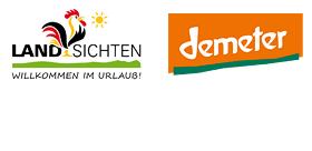 Logos Landsichten + Demeter