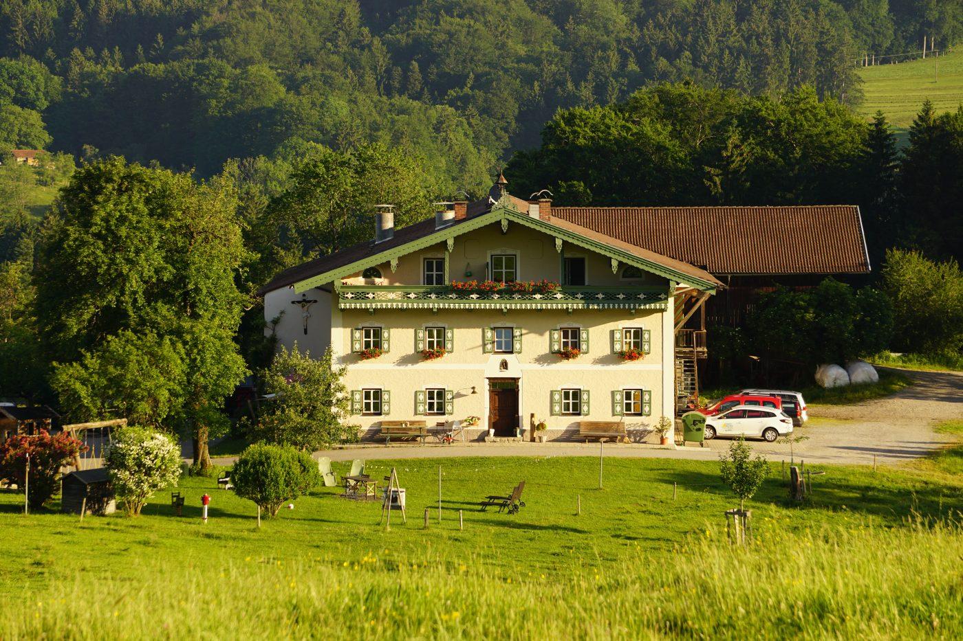 Wir heißen Sie schon jetzt, Herzlich Willkommen auf dem Moserhof am Samerberg